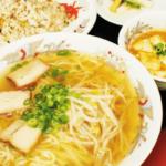 ラーメン・焼飯定食(しょうゆ・味噌)