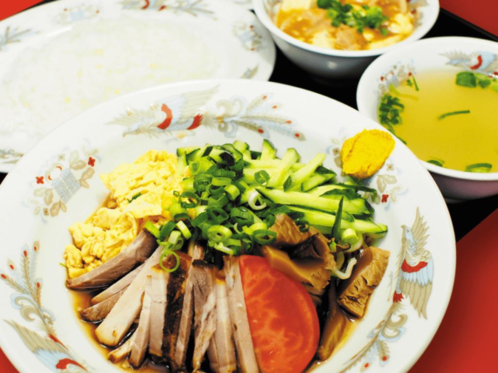 冷麺・焼飯定食(夏季限定)