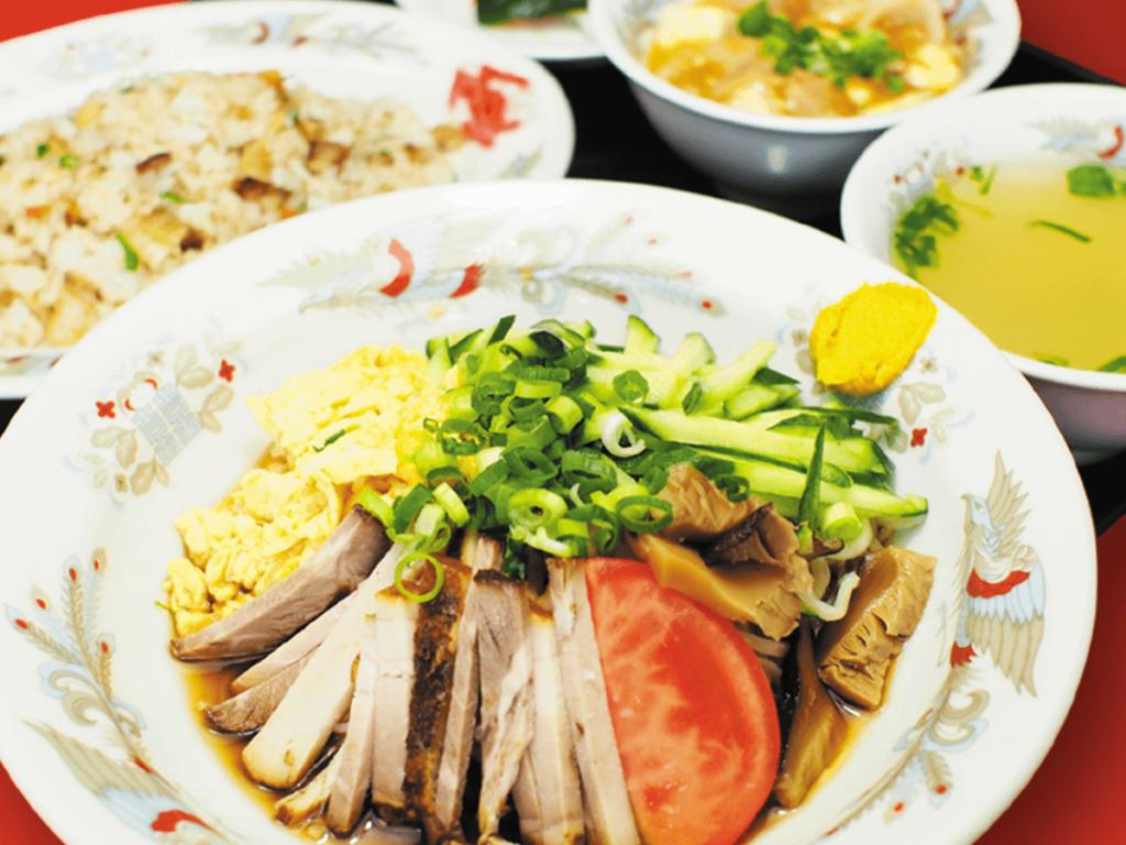 冷麺定食(夏季限定)
