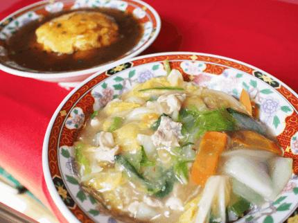 天津飯や中華丼